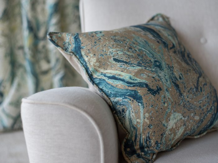 Ripple Riverbank cushion