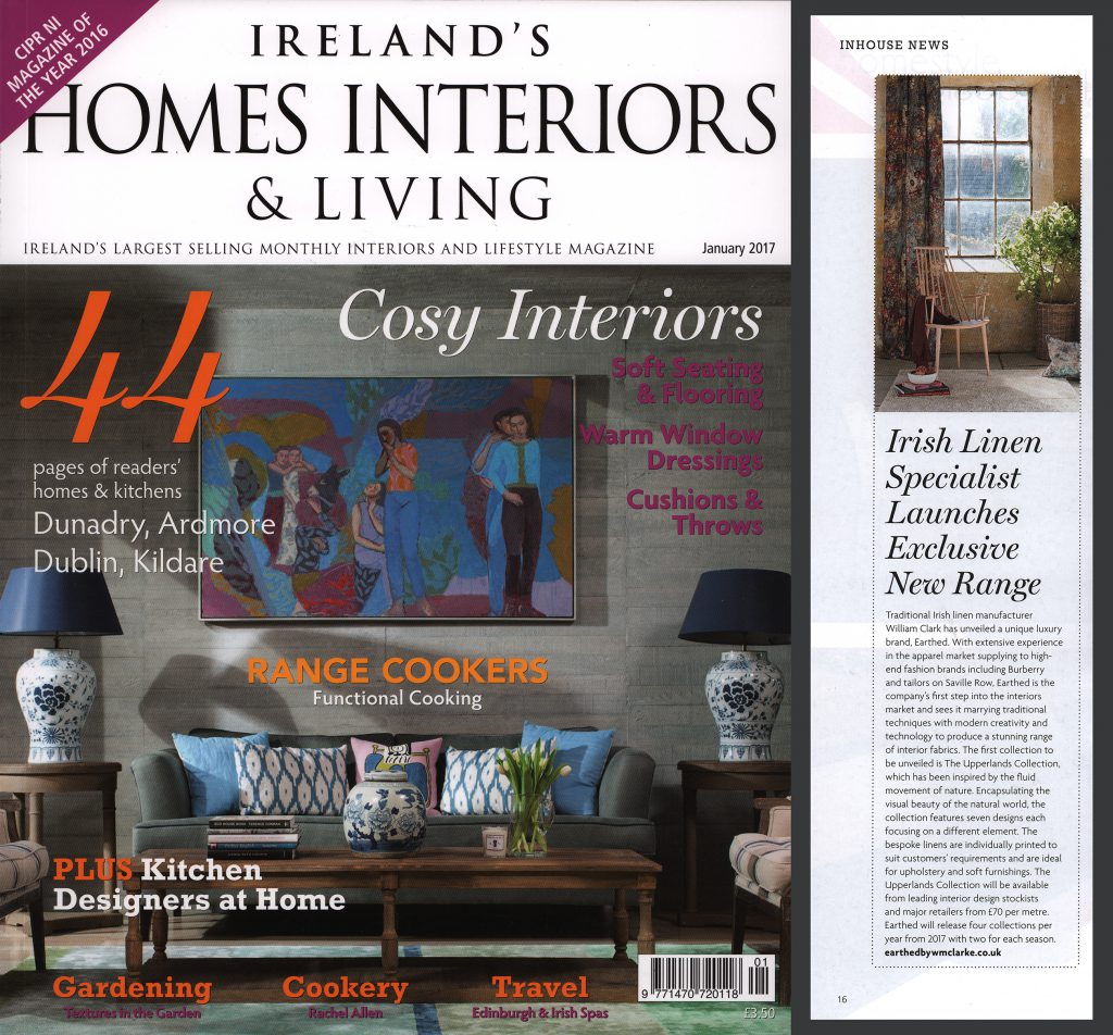 Ireland's Homes Interiors & Living January 2017